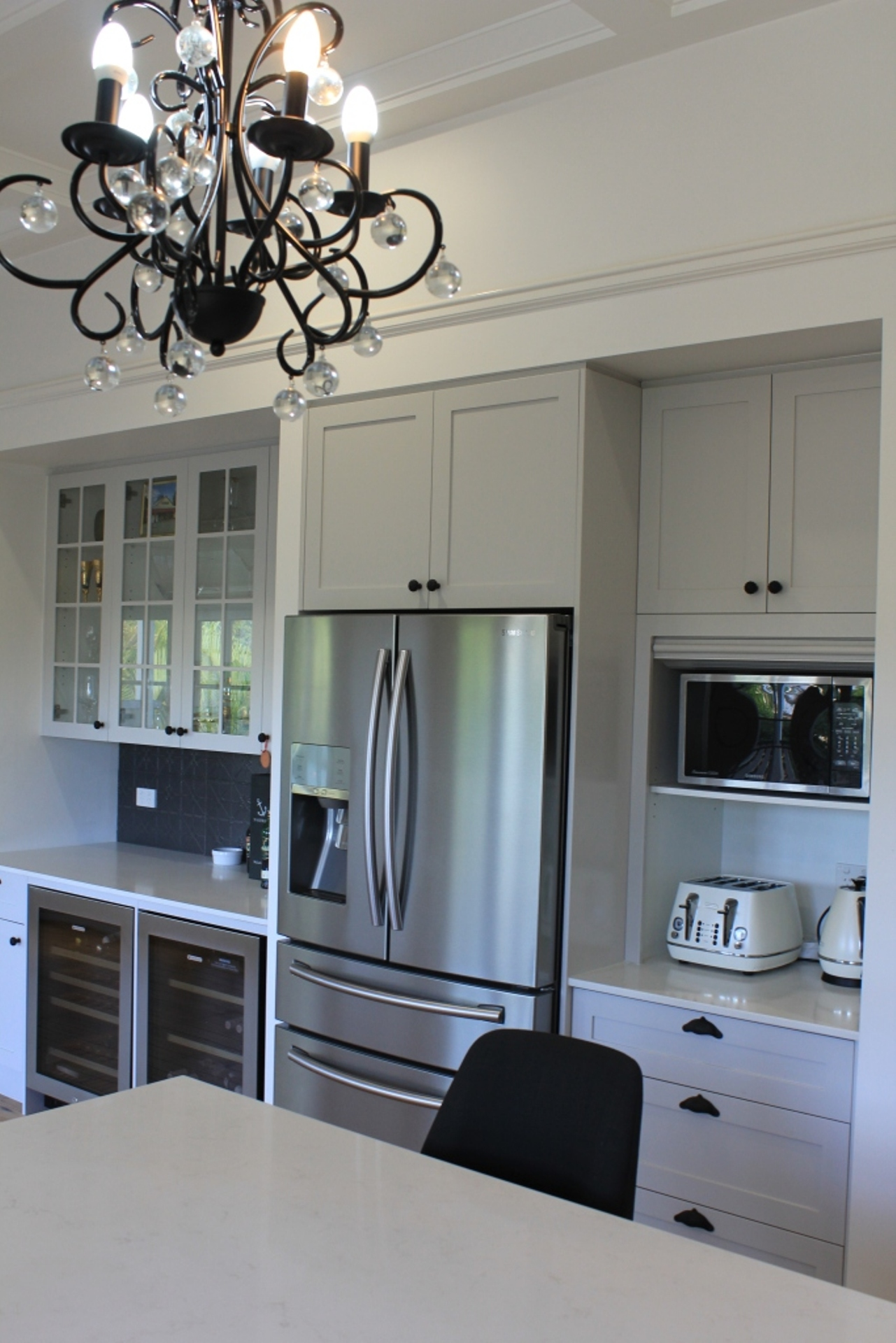 Brisbane Kitchen Design Gizeh St Grey Shaker Style Kitchen Enoggera (6)