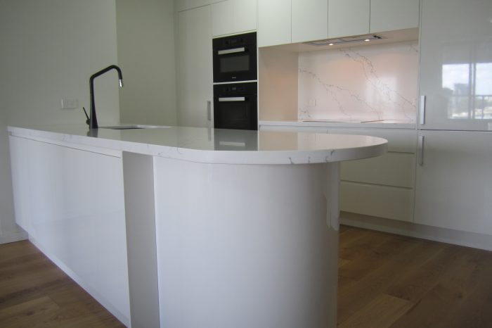 Brisbane Kitchen Design Brisbane City Contemporary Kitchen Renovation White 2 Pac (2)