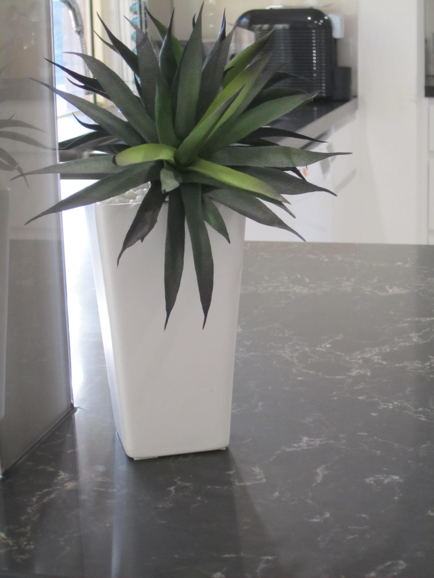 Brisbane Kitchen Design Contemporary Kitchen White 2 Pac Integrated Handles (3)