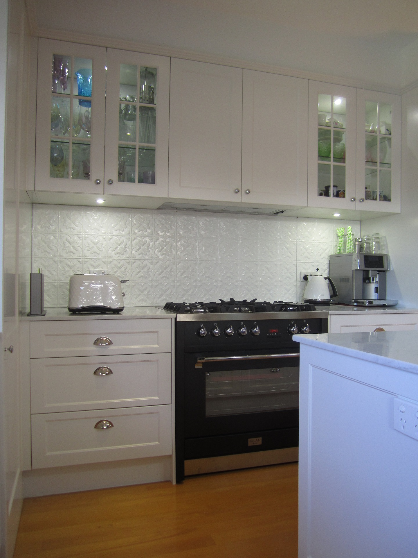 Brisbane Kitchen Design Garate Graceville Traditional KitchenRenovation Belling Richmond Freestanding Oven(11)