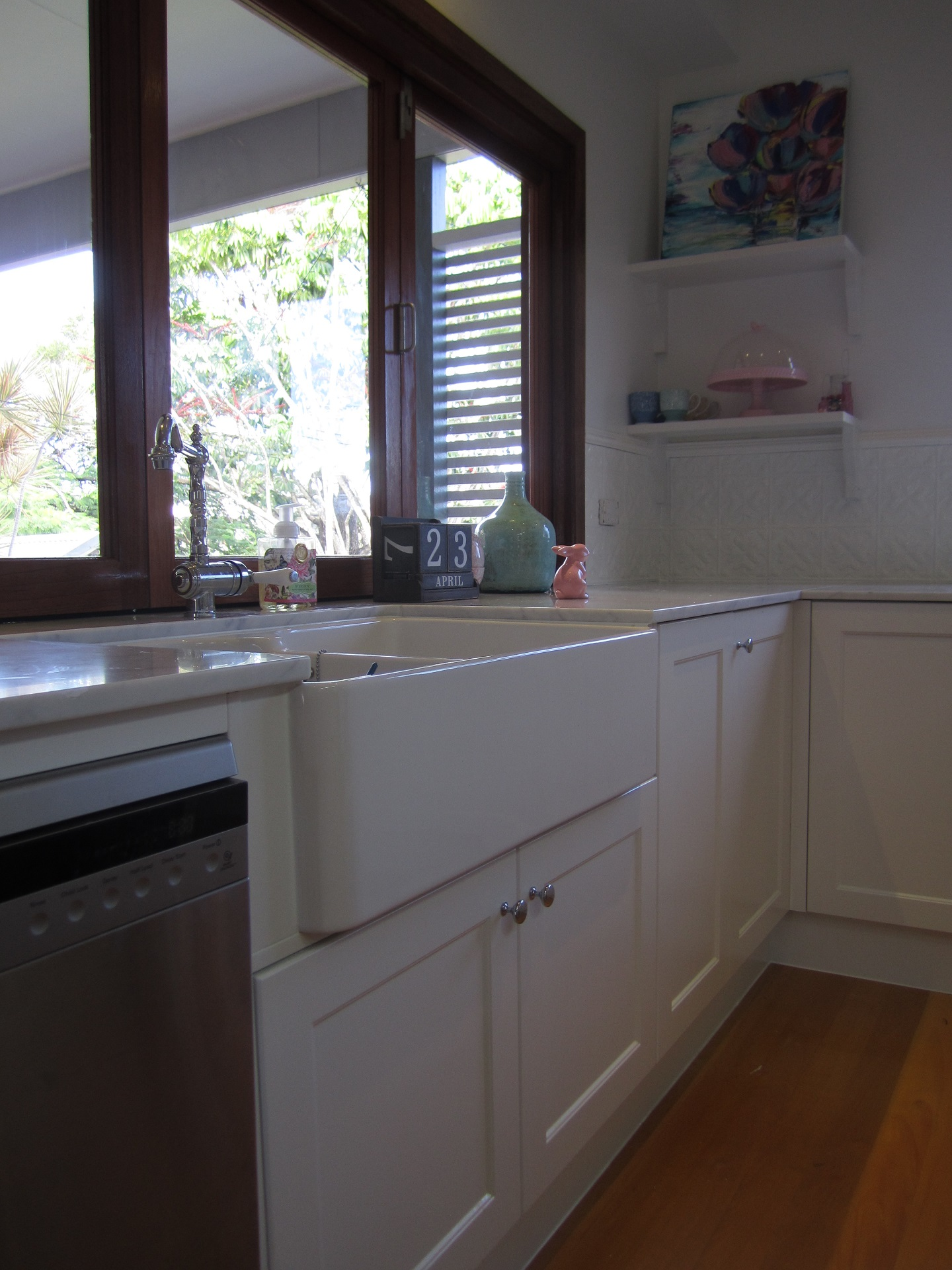 Brisbane Kitchen Design Garate Graceville Traditional KitchenRenovation Butlers Sink(6)