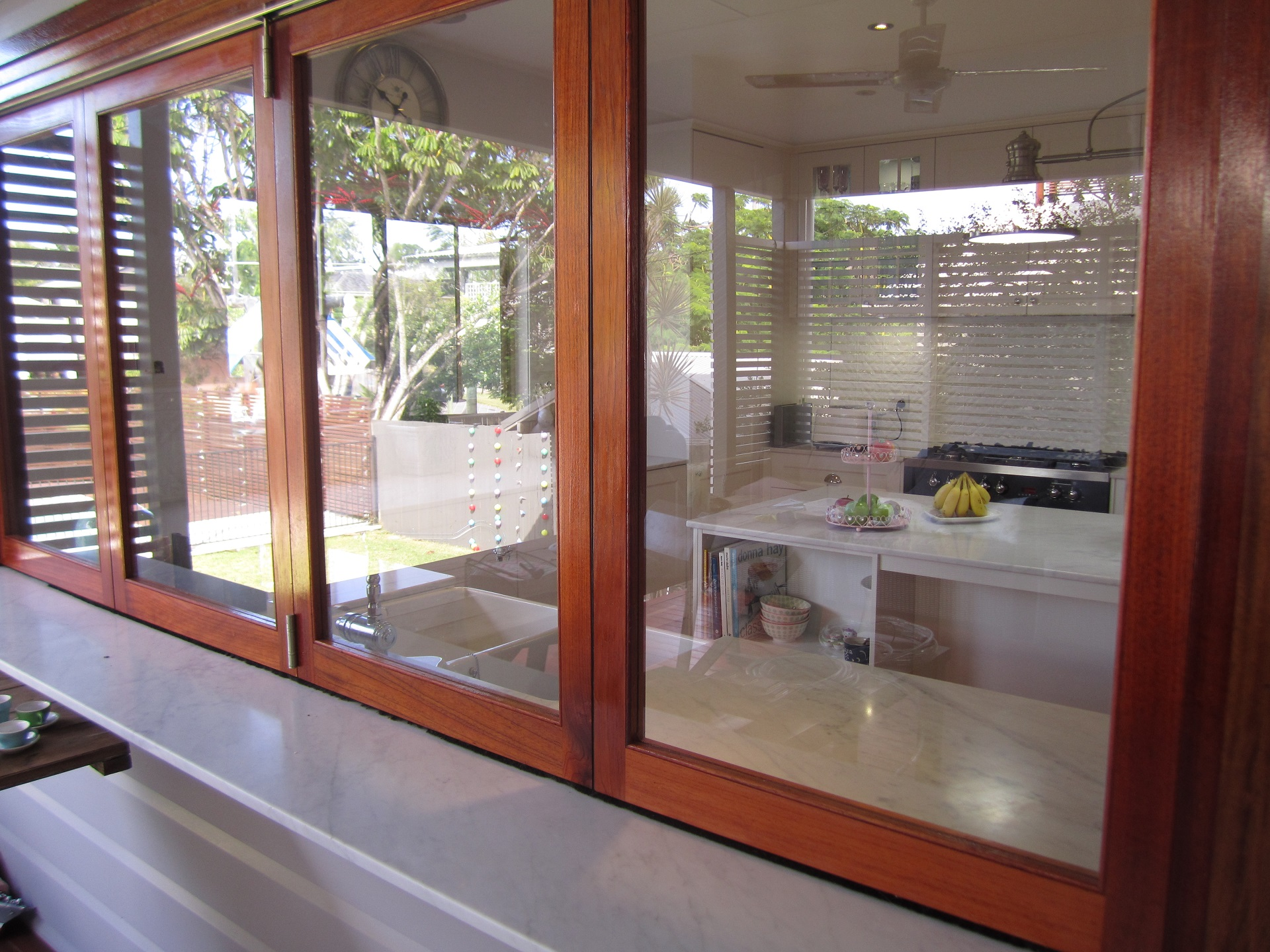Brisbane Kitchen Design Garate Graceville Traditional KitchenRenovation  Kitchen with Bifold Window Servery(14)