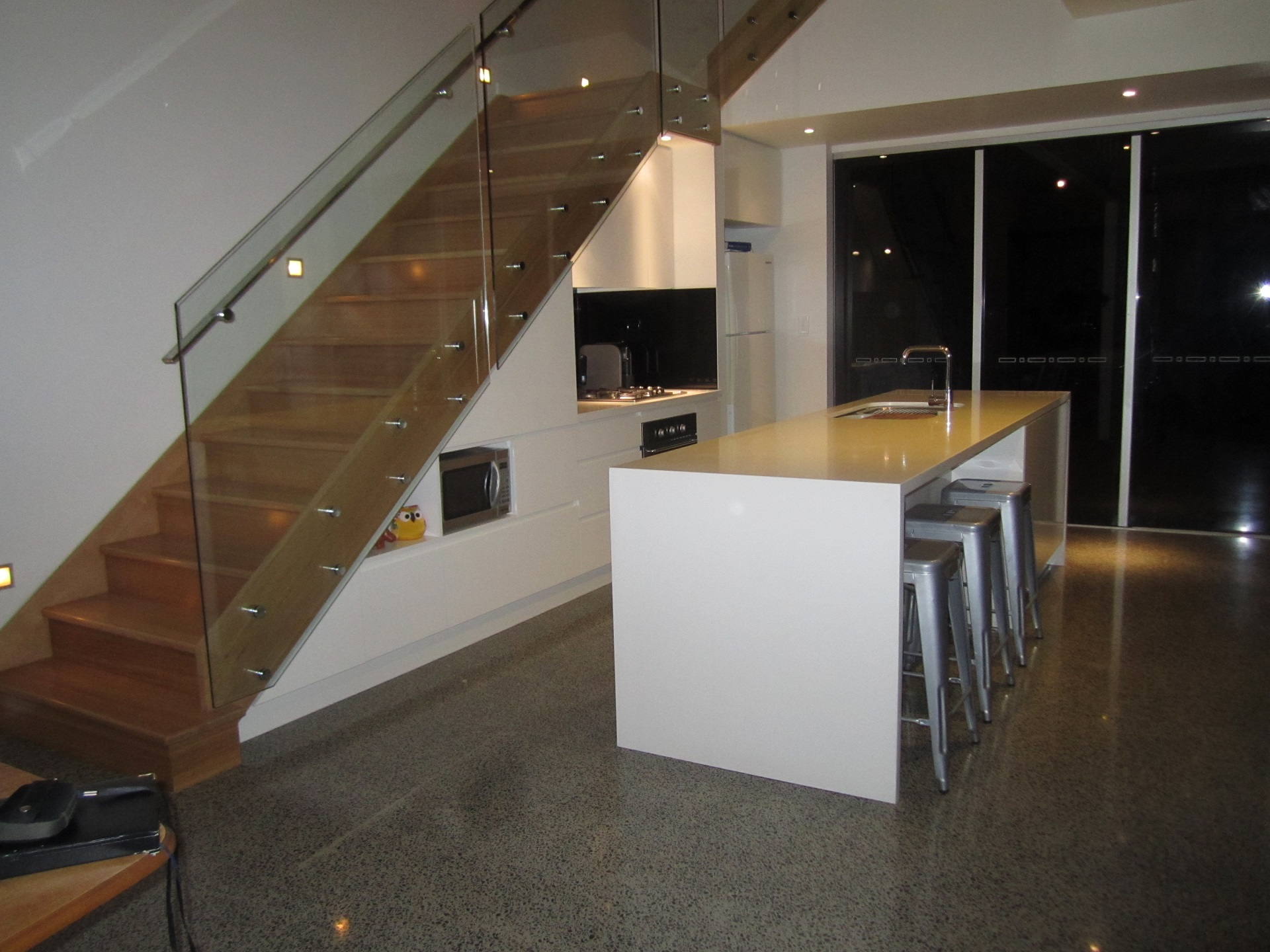 Kitchen Under Staircase