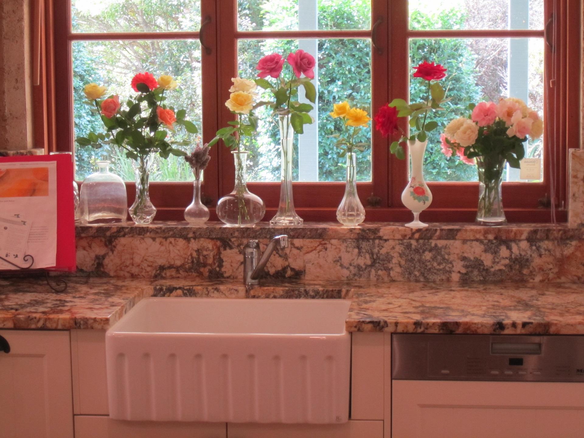 Brisbane Kitchen Design Samford  Traditional Kitchen Renovation Butlers Sink (6)