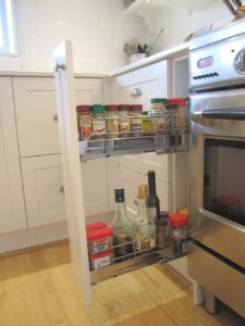 Kitchen Pullout Spice Rack