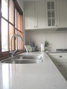 Traditional Kitchen with Undermount Sink