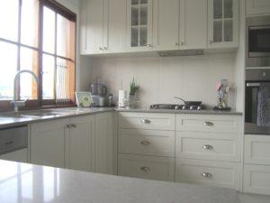Glass Door Overhead Cabinets