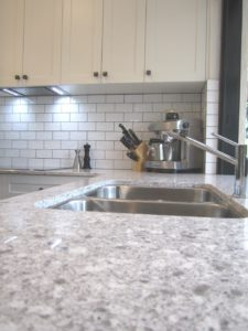 Chapel Hill Shaker Style Kitchen with Caesarstone Alantic Salt and Undermounted Sink