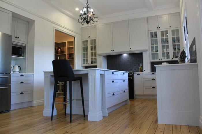 Brisbane Kitchen Design Gizeh St Grey Shaker Style Kitchen Enoggera