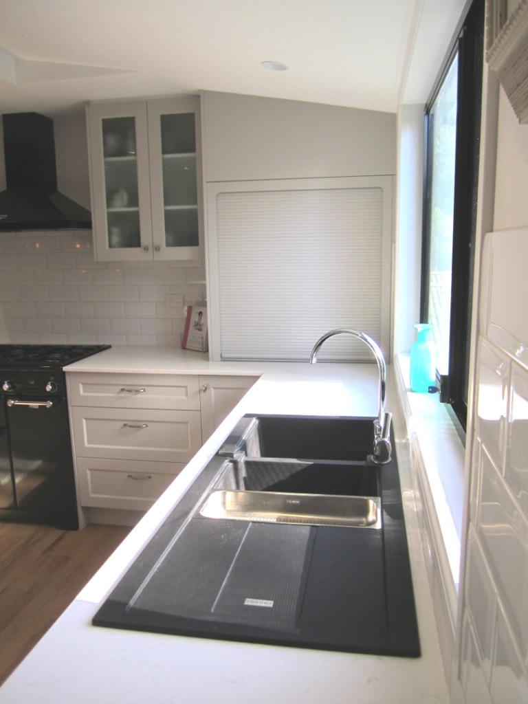 Brisbane Kitchen Design Patterson Shaker Style Kitchen McDowall Granite Sink
