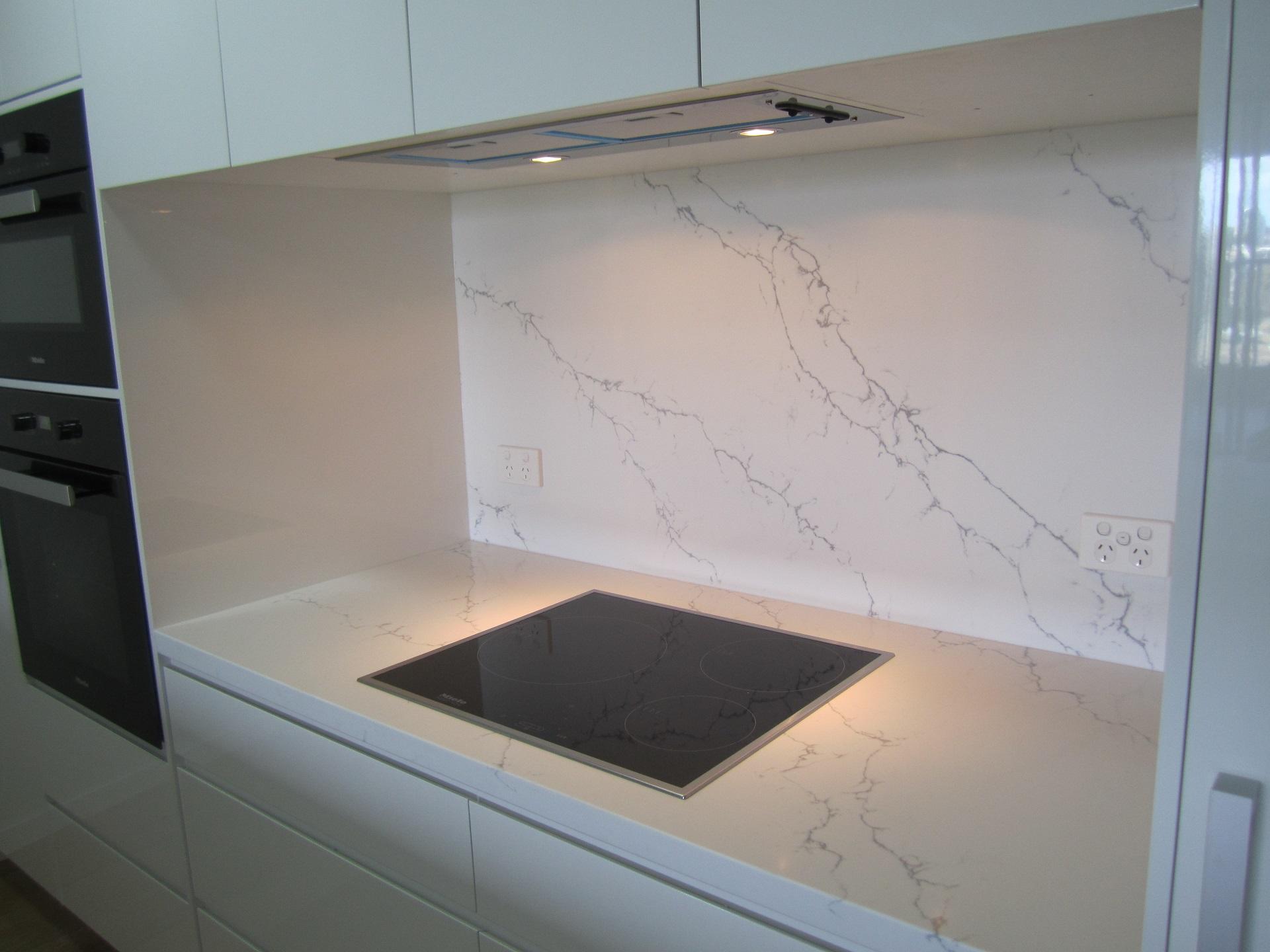 Brisbane Kitchen Design Brisbane City Contemporary Kitchen Renovation Ventatino Statuario Splashback
