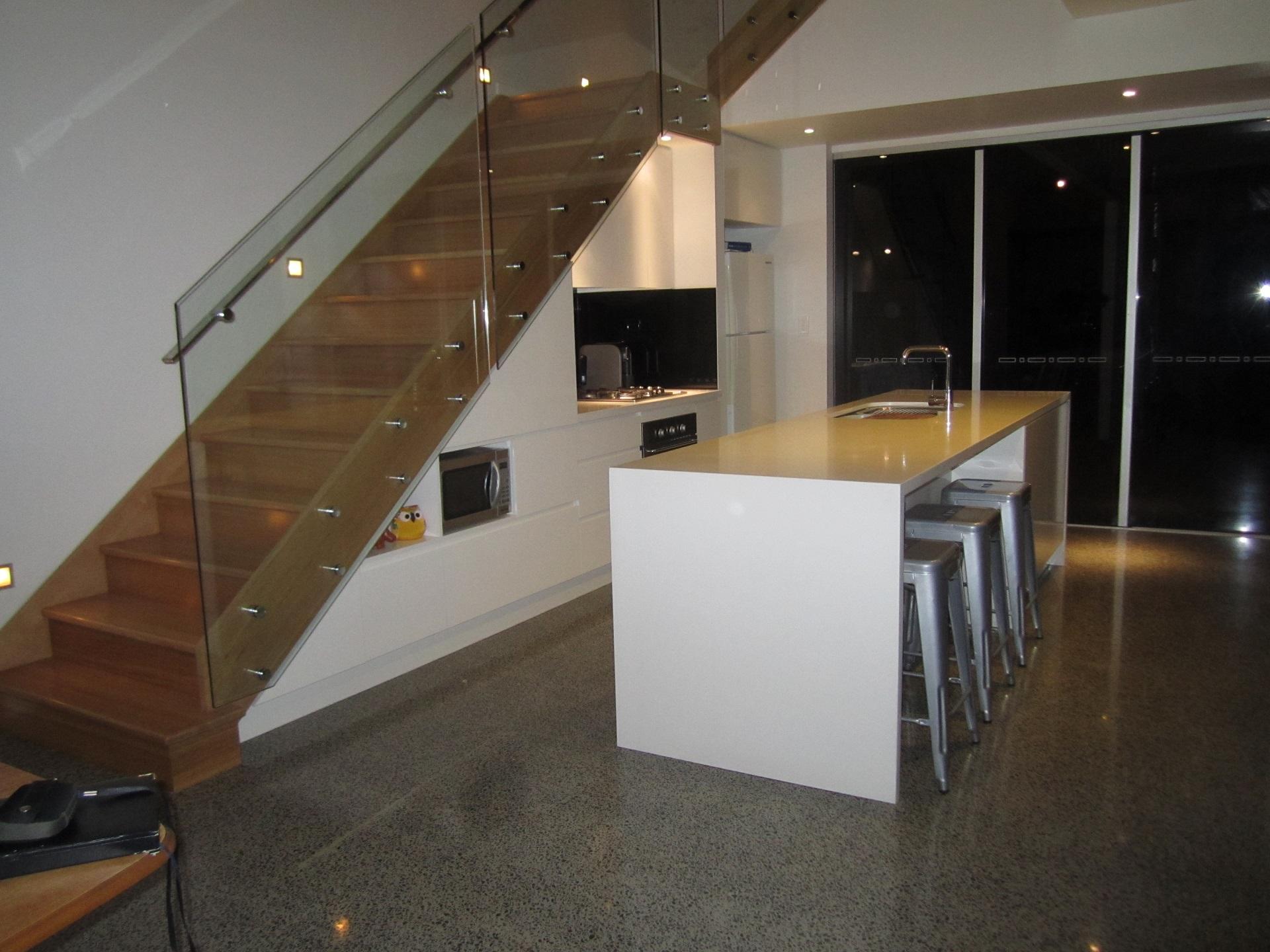 brisbane-kitchen-design-highgate-hill-contemporary- under staircase--kitchen1