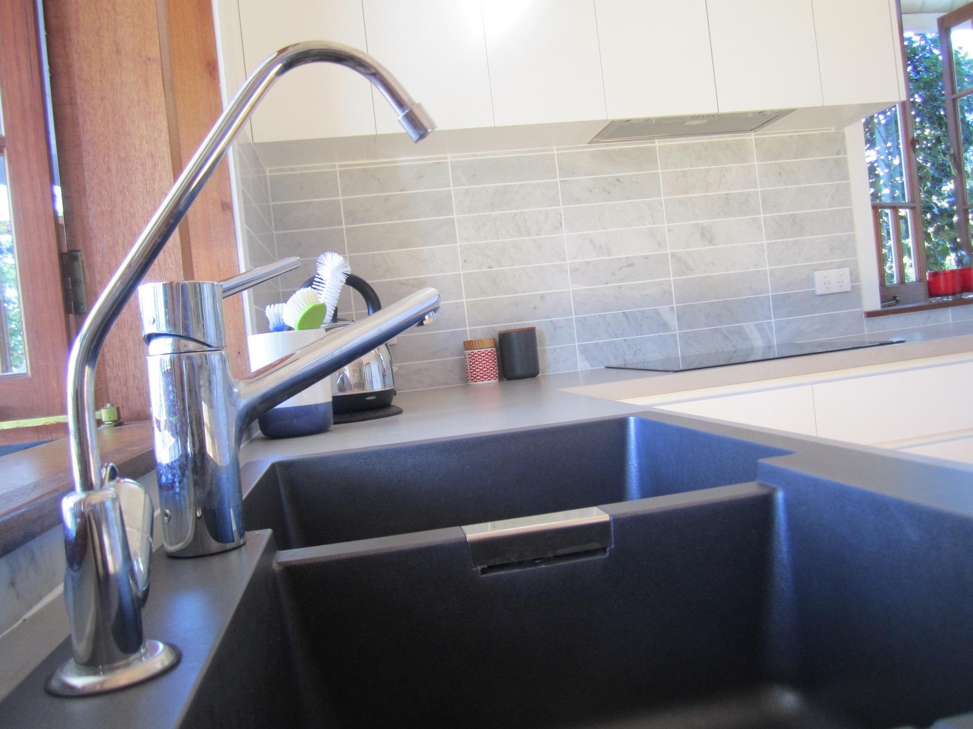 brisbane kitchen design Sherwood Contemporary Kitchen Granite Sink