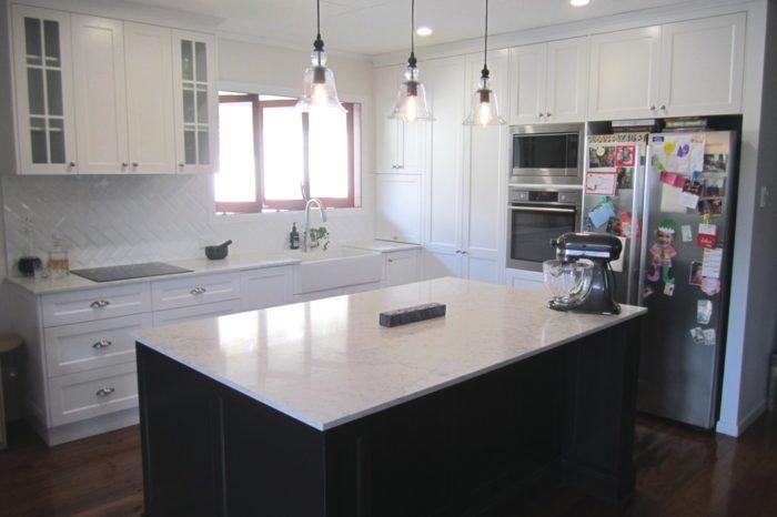 Brisbane Kitchen Design Garrity Graceville Traditional Kitchen Renovation 1