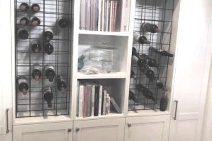 Brisbane Kitchen Design Ashgrove Butlers Pantry with In Built Wine Rack
