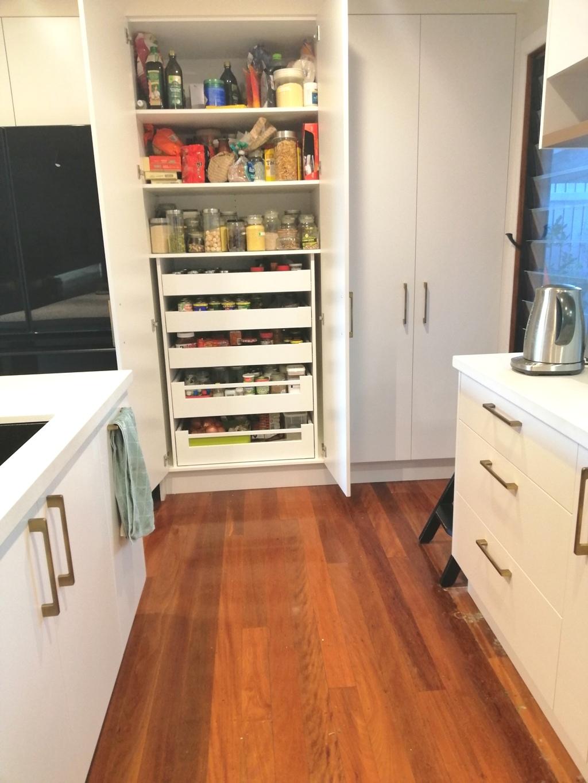 Blum Inner Drawers BrisbaneKitchenDesign Chapel Hill Contemporary Kitchen