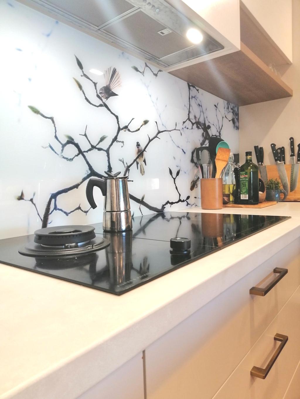 Lucy G Splashback BrisbaneKitchenDesign Chapel Hill Contemporary Kitchen